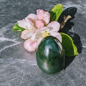 grüns nephrit jade Yoni Ei